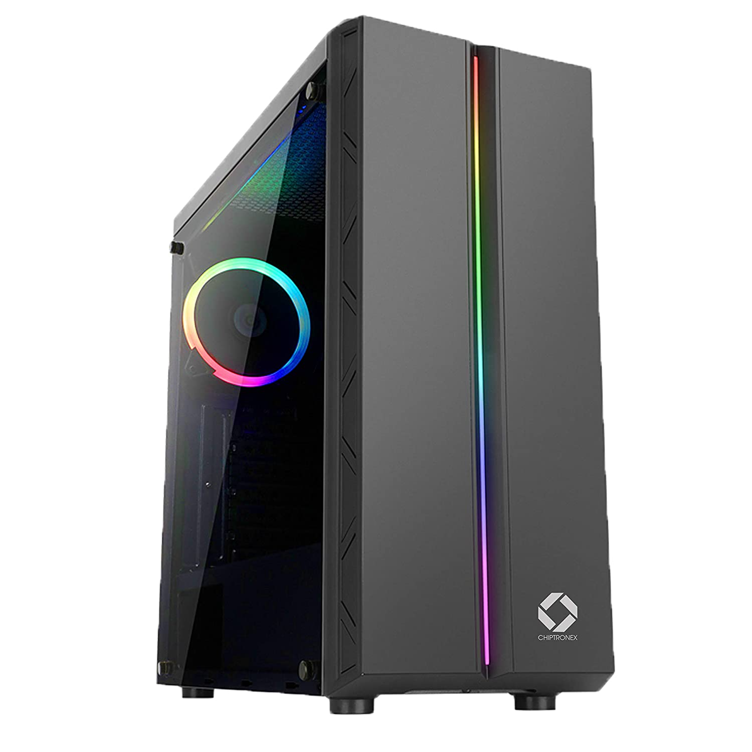 CHIPTRONEX MX1 RGB Mid Tower Cabinet