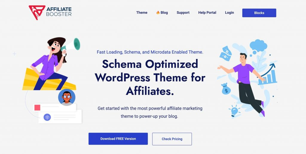 Best Free WordPress Themes for Affiliates