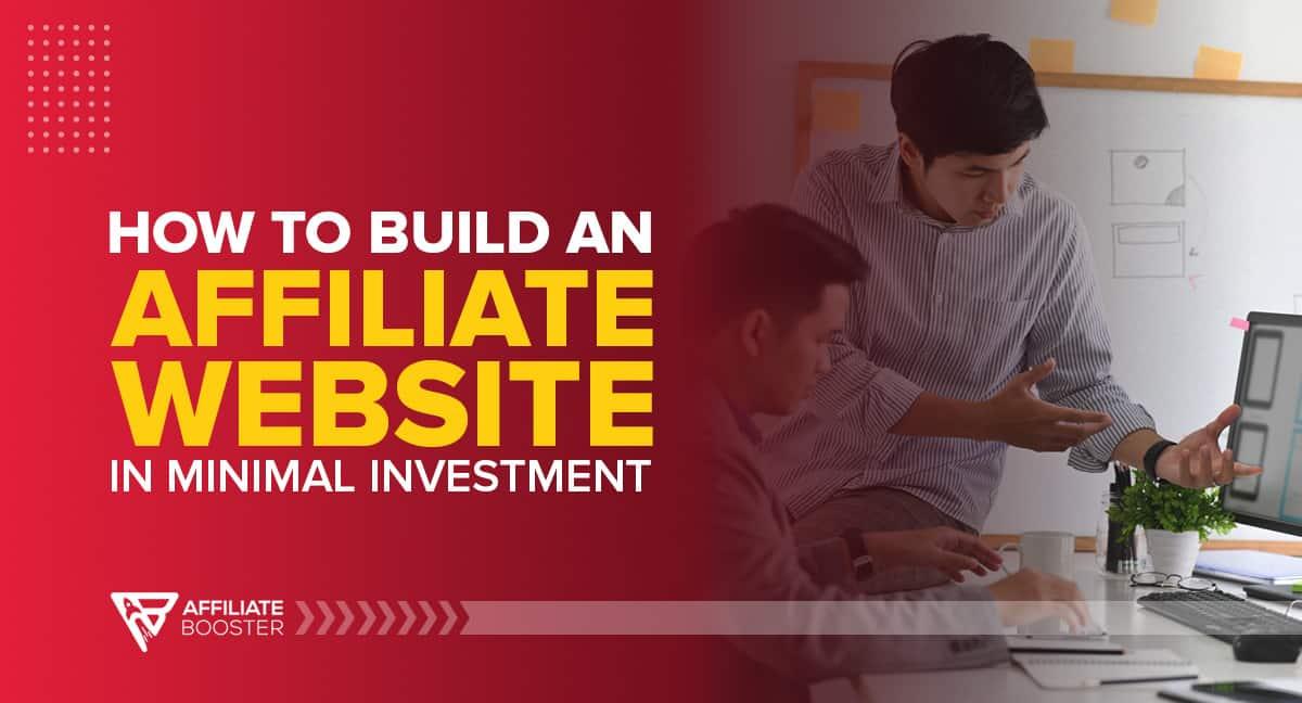 affiliate-website-Minimal-Investment